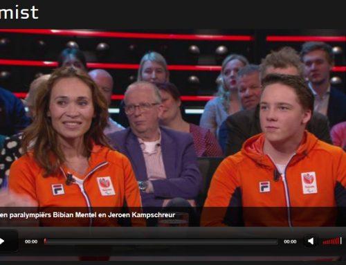 """Bibian Mentel & Jeroen Kampschreur te gast bij """"De Wereld Draait Door"""""""