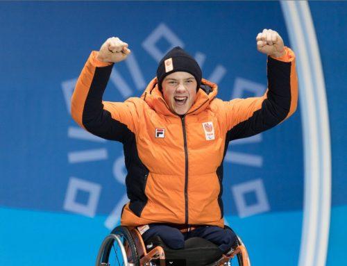 Jeroen genomineerd voor Paralympisch Sporter 2019