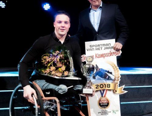 Jeroen Kampschreur wint Sportprijs  leiderdorp 2018