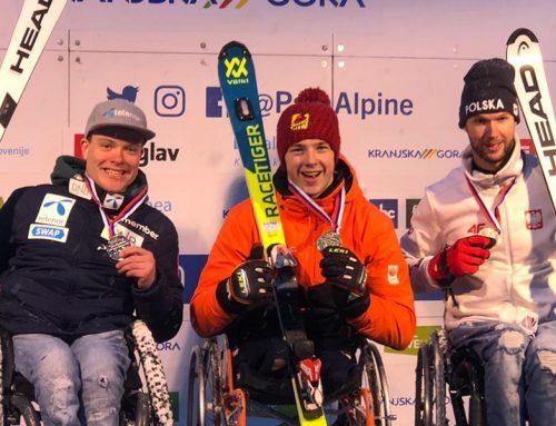 Vijfde gouden medaille Jeroen Kampschreur WK Para Alpine Skiën 2019