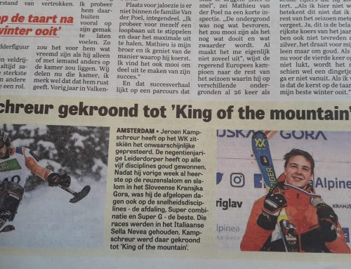 King of the Mountain Telegraaf 2 feb 2019